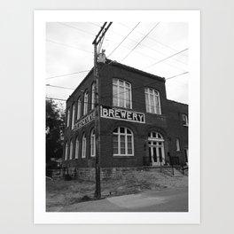 brewery Art Print