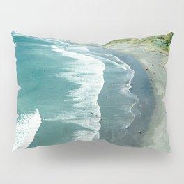 Raglan beach, New Zealand Pillow Sham