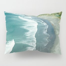 Raglan beach, New Zealand Pillow Sham