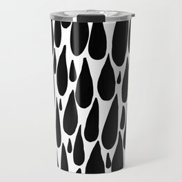 tears in black and white Travel Mug