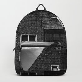 shot on iphone .. canal house Backpack