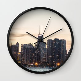 Chicago highrises Wall Clock