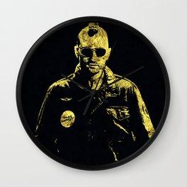 Taxi Driver - The Legend Wall Clock