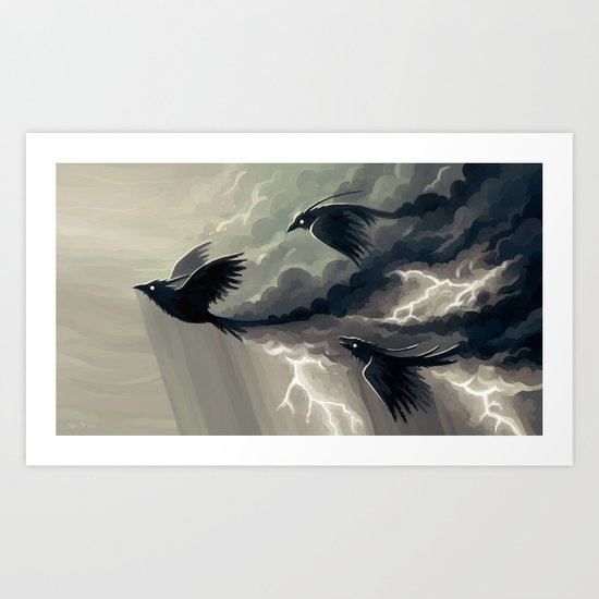Stormbringers Art Print
