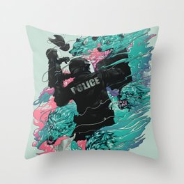 Wolf gang Throw Pillow