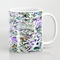 oakland Mugs featuring Purp Lives (OH. Oakland) by The Bun