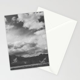 Red Rock Canyon, Las Vegas, Nevada. Mountain Black and White Photograph Stationery Cards