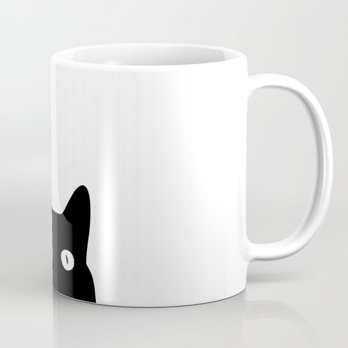 Black Cat Coffee Mug By Goodsense Society6