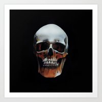 Skull Portrait Art Print