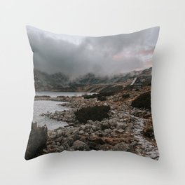 Cabin Vibes - Landscape and Nature Photography Throw Pillow
