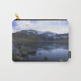 Frozen Lake Idwal Carry-All Pouch