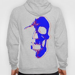 Skull - Blue Hoody