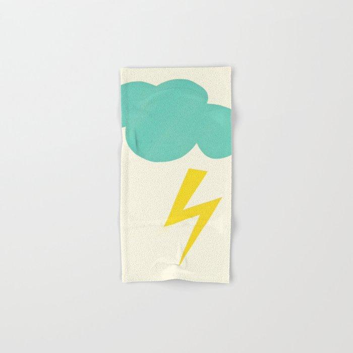 Lightning Strike Hand & Bath Towel