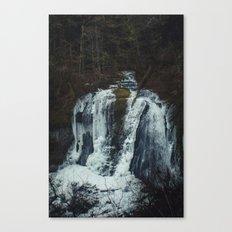Upper McCord Creek Falls Canvas Print