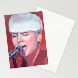 Portrait of Robyn Stationery Cards