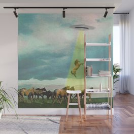 They too love horses Wall Mural