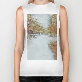 """"""" Fall In The Country """" Biker Tank"""