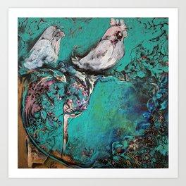 """My garden in Bangkok"" Art Print"