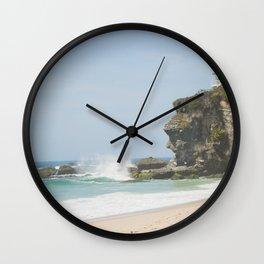 Cliffs of Laguna Beach Wall Clock