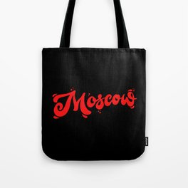 Moscow Lettering | Russia Tote Bag