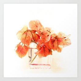 Sunny Bougainville(5). Art Print