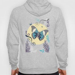 Butterflies in the day Hoody