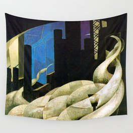 Charles Demuth Incense of a New Church Wall Tapestry