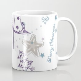 Christmas Elements Winter Snowman Sketch Pattern Coffee Mug