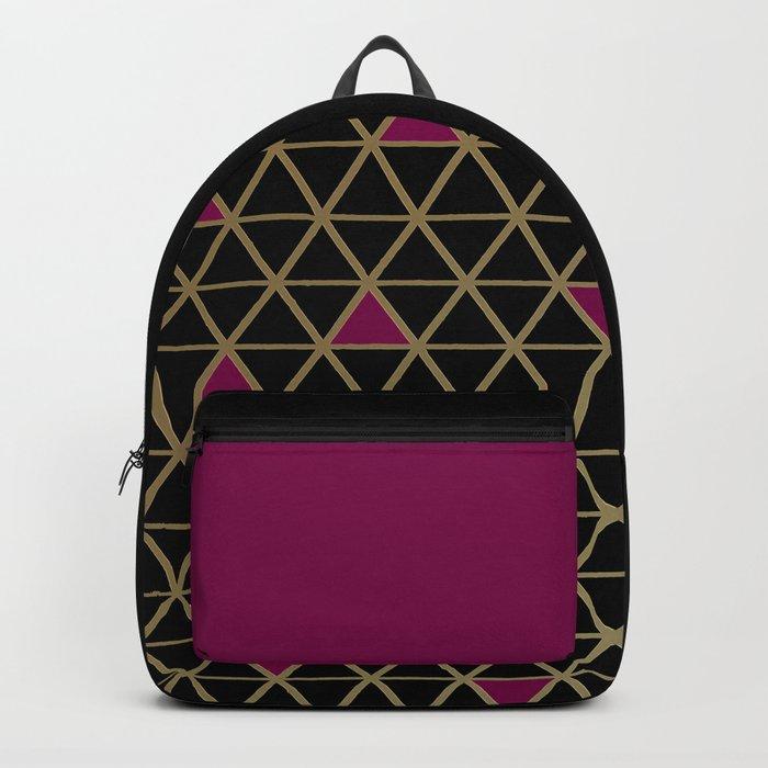 Golden Luxury Backpack