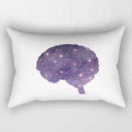 Universe in Brain Rectangular Pillow