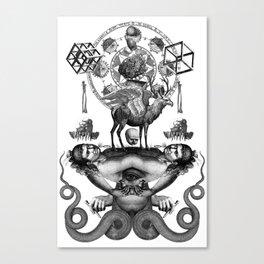 Summa demoniae Canvas Print