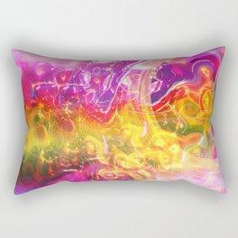 Running Into The Light Rectangular Pillow
