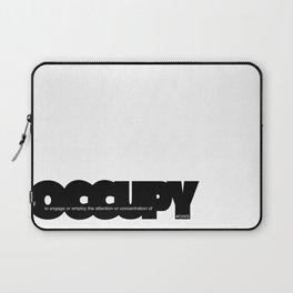 occupy Laptop Sleeve