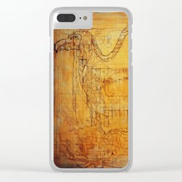 """""""Dance of forgiveness"""" Clear iPhone Case"""