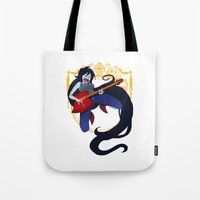 marceline Tote Bags featuring Marceline by Roe Mesquita