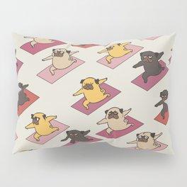 Pugs Warrior Pillow Sham