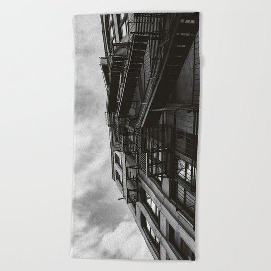 Brooklyn Architecture Beach Towel