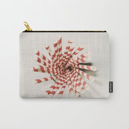 Red striped straws... Carry-All Pouch