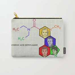Lysergic Acid Diethylamide Carry-All Pouch