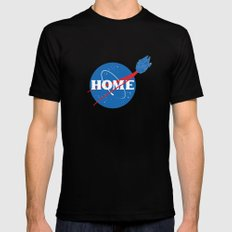 HOME MEDIUM Mens Fitted Tee Black