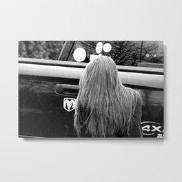 hair of the Ram Metal Print