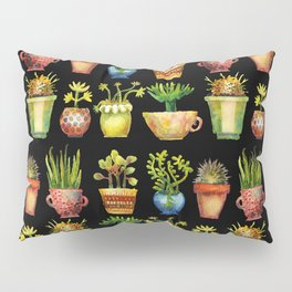 Succulents All in a Row Pillow Sham
