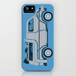 Back to The Future DeloreVan iPhone Case