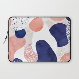 Terrazzo galaxy pink blue white Laptop Sleeve