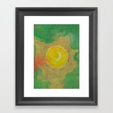citrus moon Framed Art Print