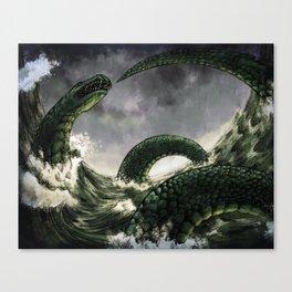The Midgard Serpent Canvas Print