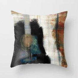 Strum Love Throw Pillow