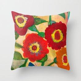 park flower1 Throw Pillow