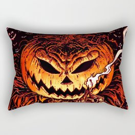 Halloween Pumpkin King (Lord O' Lanterns) Rectangular Pillow