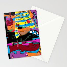 Peace and Art in Modernity Stationery Cards
